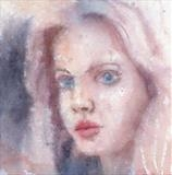 Love Me 2 by Laura Boyd, Painting, Watercolour and pencil