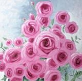 Rose Bower 2 by Laura Boyd, Painting, Oil on canvas