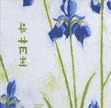 chinese iris 1 by Laura Boyd, Painting, Oil on canvas