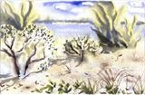 orient point state park by Laura Boyd, Painting, Watercolour on Paper