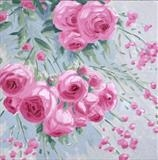 rose bower 1 by Laura Boyd, Painting, Oil on canvas